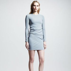 T by ALEXANDER WANG Grey Dress S, Fitted Bodycon